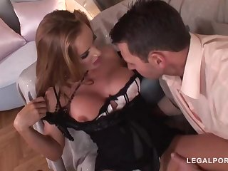 Trendy of age with a ultra-cute, chubby butt, Bonny Bon got bum-fucked until she commenced pumping extensively like naughty
