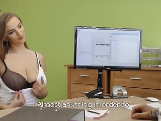 LOAN4K: Warm woman with meaty fun bags looking for a loan