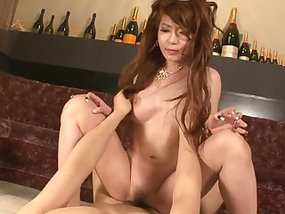Asian princes satiated all over magic magic wand and slit creampied