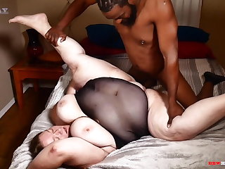 Big ass mommy taking big dick from their way black stepson