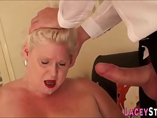 Nothing can make laugh horny and wild granny like a hard sex with a stranger