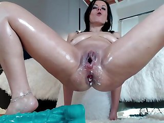 Horn-mad Milf Slut Loses The total Dildo In Will not hear of For detail Asshole