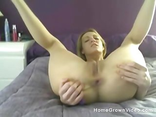 awesome orgasm is guaranteed if you seem to be dildo like this blonde