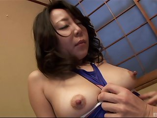 Saya has insatiable desire for penis once in a blue moon so she calls her previously to