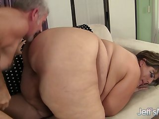 Jeffs Models - Cute SSBBW Erin Callow Doggystyle Compilation Part 1