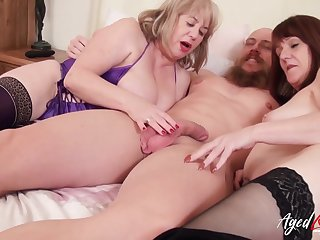 Gorgeous british matures and horny handy man hardcore trinity party