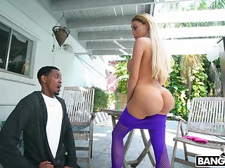Dat ass got him speechless together with Victoria June wants some BBC analgesic