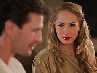 Hot MILF Carter Cruise enters a bar and seduces a man procure having sex with say no to