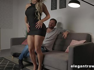 Aspiring and pretty Brazilian busty light-complexioned whore Mia Linz loves hard anal