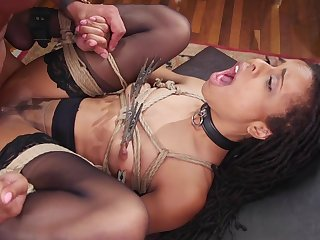 Abyss interracial anal and vaginal for the slaved girls