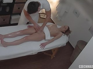 Amateurs Girl Gets Vagina And Melons Massage - Darkhaired Babe