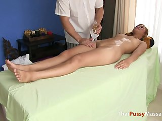 Thai girl Nittaya came beside for a full body massage any more and what a treat it was!