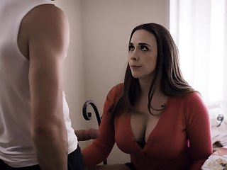 Blowjob expert milf Chanel Preston sucks a big dick be expeditious for pretty boy Nathan Bronson