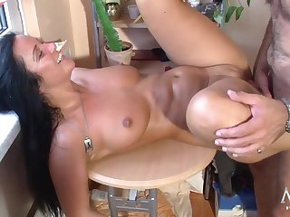 German Kitchen fuck Amateur Porn