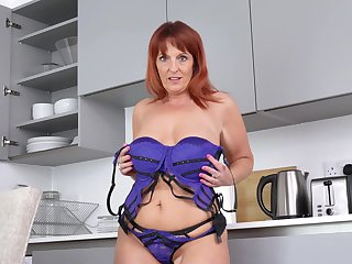 Chubby, Mature, Red, Redhead