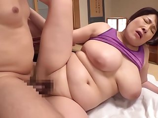 Chubby Asian Mommy Risible Hard Charge from