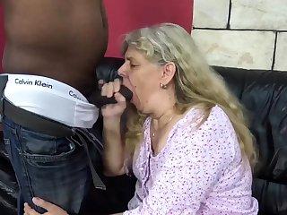 Big cock, Blonde, Fat, Granny, Interracial, Mom, Old, Rough