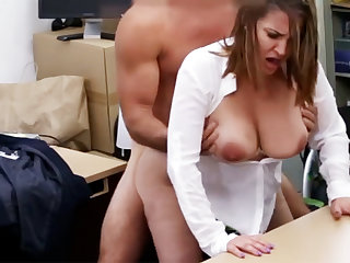 Married business lady stodgy fuck be useful to money