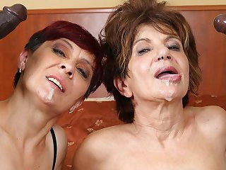 Grannies Hardcore Fucked Interracial Porn with Venerable Women sex