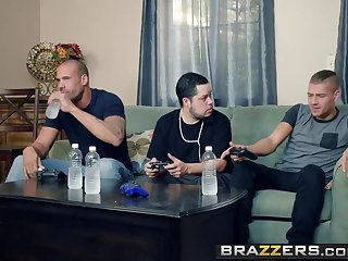 Brazzers - Mommy Got Boobs -  My Friends Fucked My Mother scene