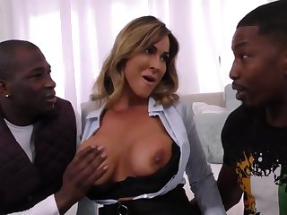 Anacreontic Realtor Overprotect Takes On Two Younger B - beamy titties