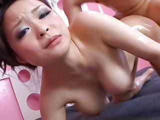Busty beauty, Yuu Haruka, craves to swallows some warm jizz - More readily obtainable javhd.net